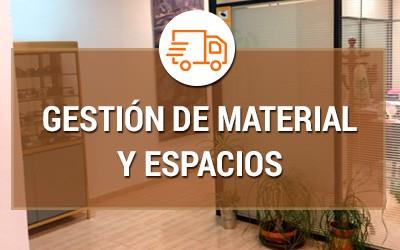 Gestión de material y espacio