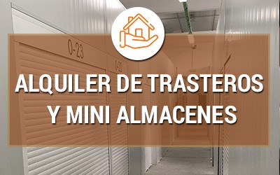 Alquiler de trasteros y mini almacenes en Madrid